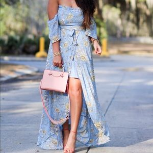 Dresses & Skirts - Floral Maxi Split Dress